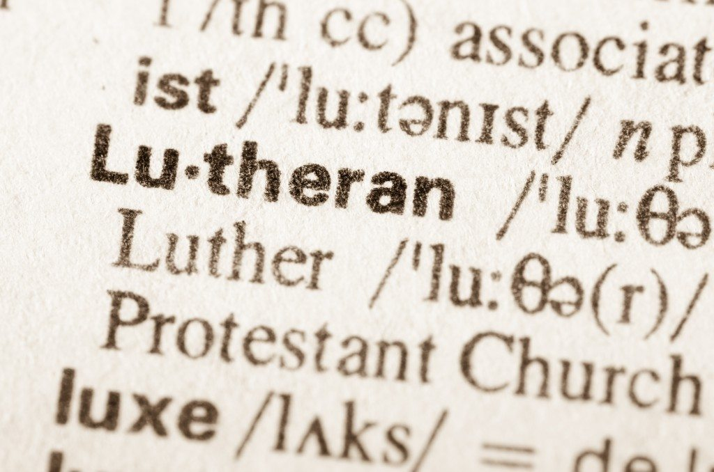 why trinity church? definition of lutheran from dictionary