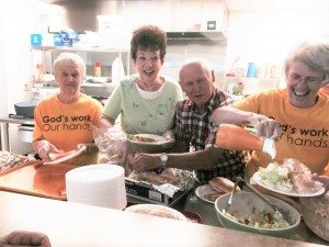 "Trinity's ""God's Work, Our Hands"" community ministries"