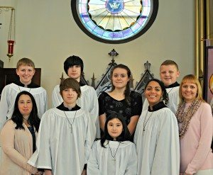 children's choir at trinity lutheran church